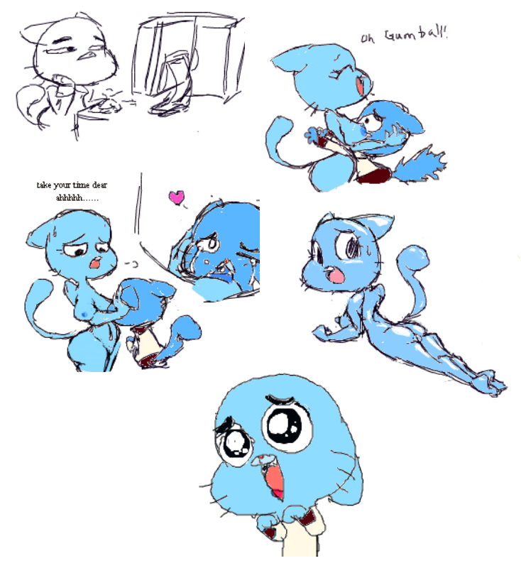 of amazing gumbal world porn Spooky the tuff little ghost