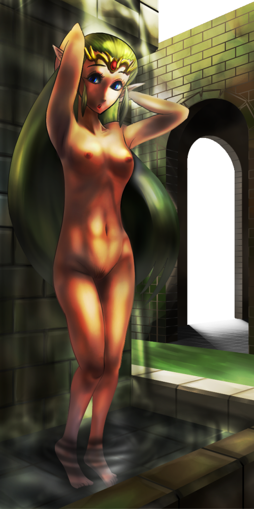 how saria ocarina old is of time in Lilo and stitch porn pic