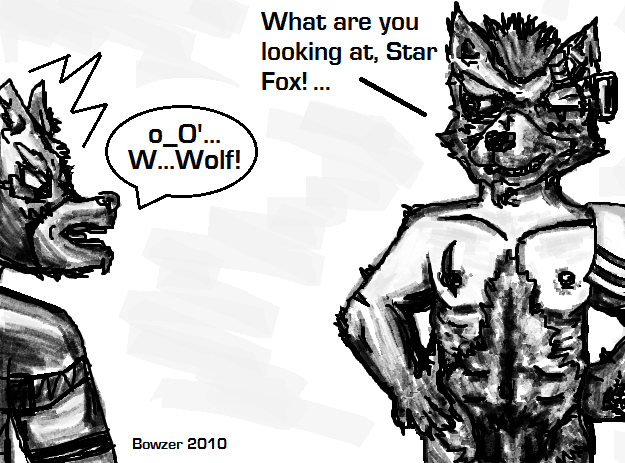fox o'donnell mccloud wolf x Fart in the wind gif