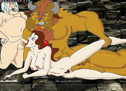 in beast the triplets beauty and Street fighter 4 nude mods