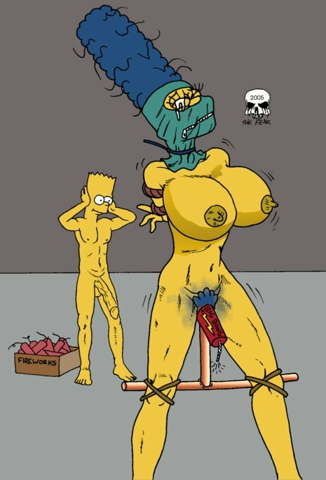bart simpson with marge naked Velma and daphne lesbian sex