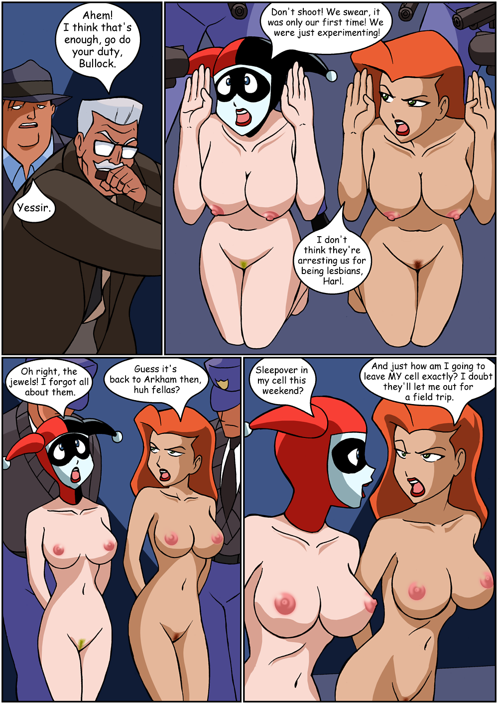 the the and poison ivy batman brave bold Cum powered maid bot hentai