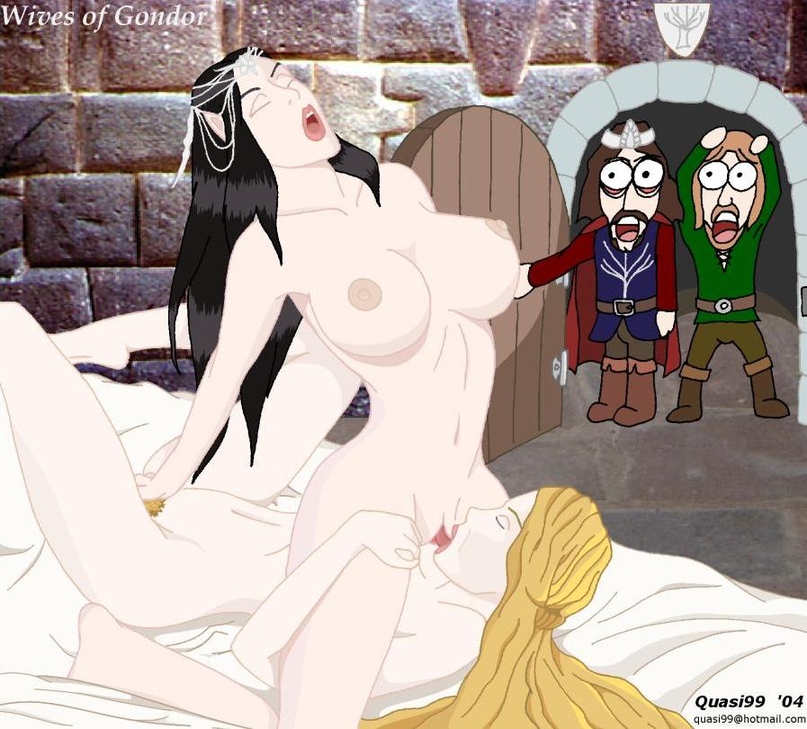 female orc the rings of lord Regular show rigbys mom porn