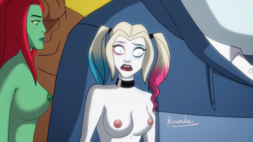 double butt harley quinn crack Fievel goes west miss kitty