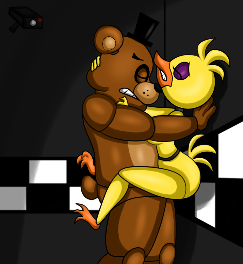 nights chica five nude freddy's at Harley quinn fucked by dogs