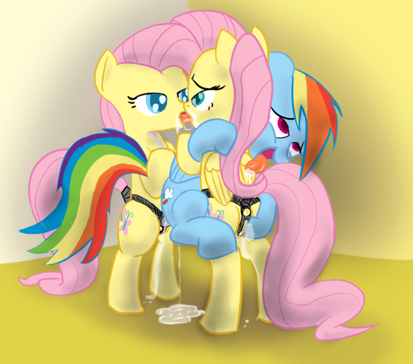 rainbow and twilight dash kissing Project x love potion disaster wii